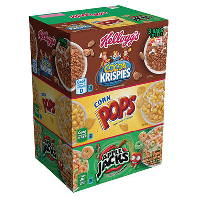 Kellogg's Tri-Fun Cereal Variety Pack - 57.5 oz.