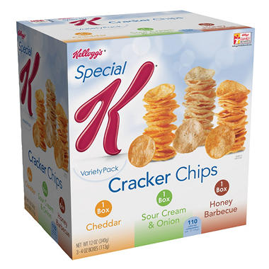 Special K Cracker Chips Variety Pack - 12 oz.