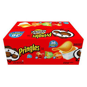 Pringles Snack Stacks Variety Pack - 36 ct.