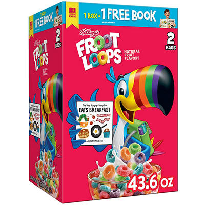 Kellogg's Froot Loops Cereal - 43.6 oz.