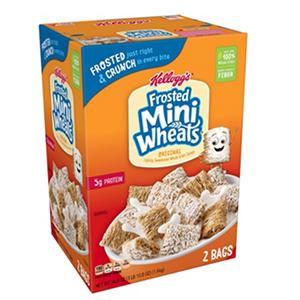Kellogg's Frosted Mini-Wheats( 58.8 oz.)