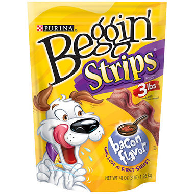 Purina Beggin' Strips, Bacon (48 oz.)