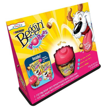 Beggin Party Poppers Dog Treats (24 oz.)
