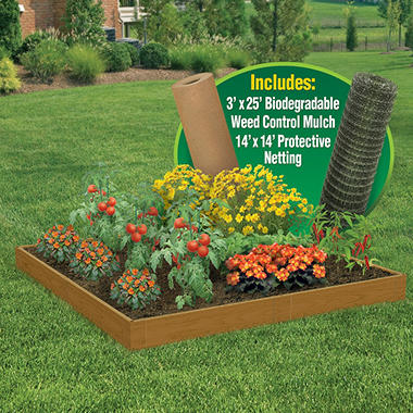 Complete Raised Garden Kit