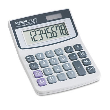 Canon - LS82Z Minidesk Calculator - 8-Digit LCD