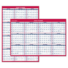 "AT-A-GLANCE - Vertical/Horizontal Erasable Wall Planner, 32"" x 48"" -  2015"