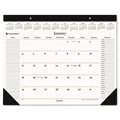 """AT-A-GLANCE Recycled Executive Desk Pad, 22"""" x 17"""" -  2015"""