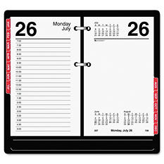 "AT-A-GLANCE - Desk Calendar Refill with Tabs, 3 1/2"" x 6"" -  2015"