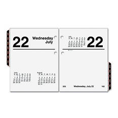 "AT-A-GLANCE - Recycled Compact Desk Calendar Refill, 3"" x 3 3/4"" -  2015"