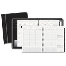 AT-A-GLANCE - Columnar Executive Weekly/Monthly Appointment Book, Zipper, 8 1/4 x 10 7/8 -  2016