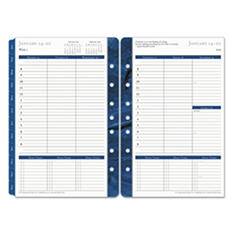 Franklin Covey - Monticello Dated Weekly/Monthly Planner Refill, 5-1/2 x 8-1/2 -  2016
