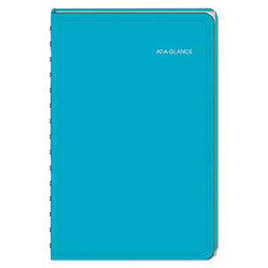 AT-A-GLANCE - LifeLinks Professional Weekly/Monthly Appointment Book, 5 1/2 x 8 1/2, Teal - 2016