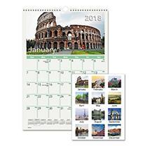 AT-A-GLANCE® European Destinations Wall Calendar, 12 x 17, 2018