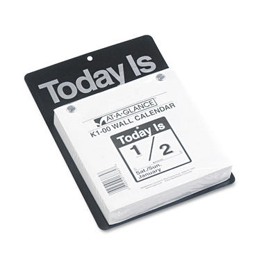 "At-A-Glance ""Today Is"" Daily Wall Calendar"