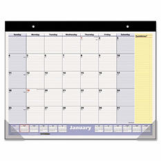 AT-A-GLANCE - QuickNotes Desk Pad, 22 x 17 -  2016-2017
