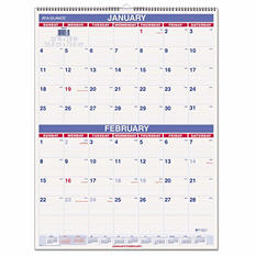 AT-A-GLANCE - Two-Month Wall Calendar, 22 x 29 -  2016