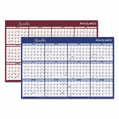 AT-A-GLANCE - Reversible Horizontal Erasable Wall Planner, 36 x 24 -  2016
