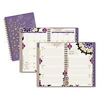 AT-A-GLANCE Vienna Weekly/Monthly Appointment Book, 4 7/8 x 8, Purple, 2017