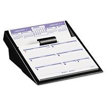AT-A-GLANCE® Flip-A-Week Desk Calendar Refill, 5 5/8 x 7, White, 2018