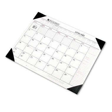 AT-A-GLANCE - Nonrefillable Desk Pad Calendar