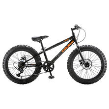 "20"" Mongoose Boy's Compac Fat Tire Bike (Black)"