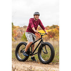 "26"" Mongoose Beast Men's Fat-Tire Mountain Bike (Black)"