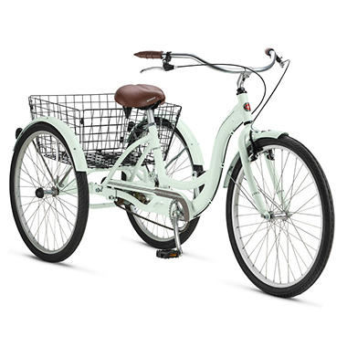 "Schwinn Meridian 26"" Adult Tricycle - Various Colors"