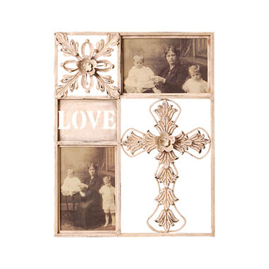 """Love"" Metal Picture Frame"