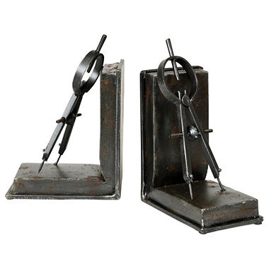 """Compass"" Bookends - 2 pk."