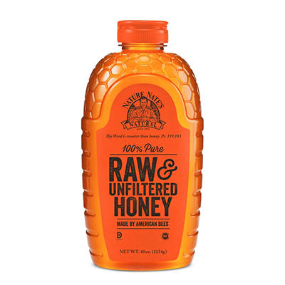 Nature Nate's® 100% Pure Raw & Unfiltered Honey - 40 oz.