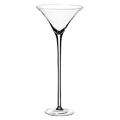 "19 1/2"" Martini Glass - Crystal"