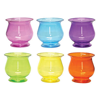 "4 3/4"" Pedestal Compote - Fiesta Assortment (18 ct. )"