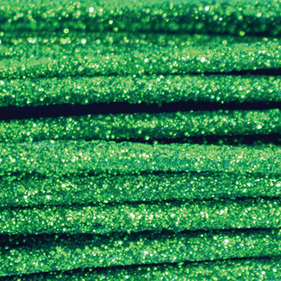 Glitter Stems Solid Packs - Green (24 ct. )