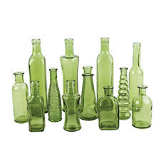 Vintage Bottle Collection, Vintage Green (24 ct.)