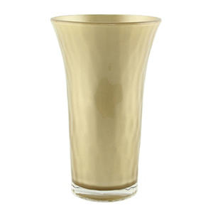 "8"" Optic Trumpet Vase - Champagne (12 ct.)"