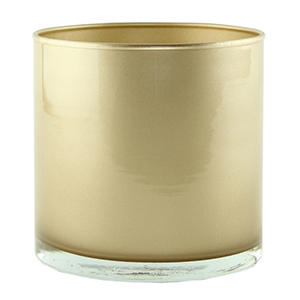 "4"" x 4"" Cylinder - Champagne (12 ct.)"