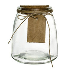"5"" Hadley Jar - Crystal (12 ct.)"