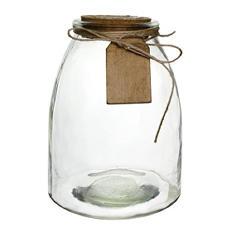 "7"" Hadley Jar - Crystal (6 ct.)"