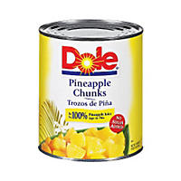 Dole Pineapple Chunks - 106 oz. can