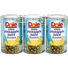 Dole Pineapple Juice - 3/46 oz.