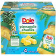 Dole Pineapple Chunks 20 oz. jars - 4 pk.
