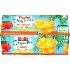 Dole Organic Mango Chunks (4 oz. ea., 16 ct.)