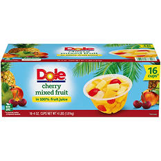 Dole Cherry Mixed Fruit - 16/4 oz.