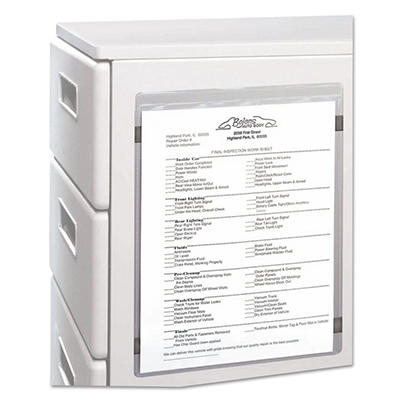 "C-Line - Magnetic Shop Ticket Holder, 8 1/2"" x 11""- 15 ct."