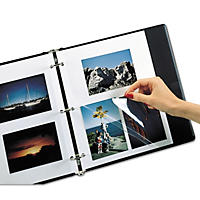 C-Line Redi-Mount Photo Mounting Sheets, 11 x 9 - 50/Box