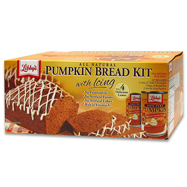 Pumpkin Bread Kit - 106 oz.