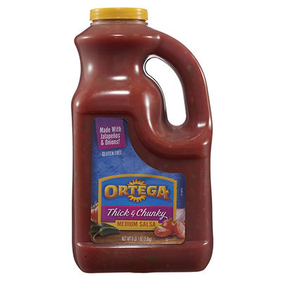 Ortega Salsa Thick & Chunky Med. - 1 gal.