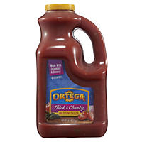 Ortega Medium Thick & Chunky Salsa (1 gal.)