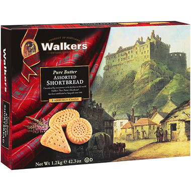 Walkers Pure Butter Assorted Shortbread - 42.3 oz