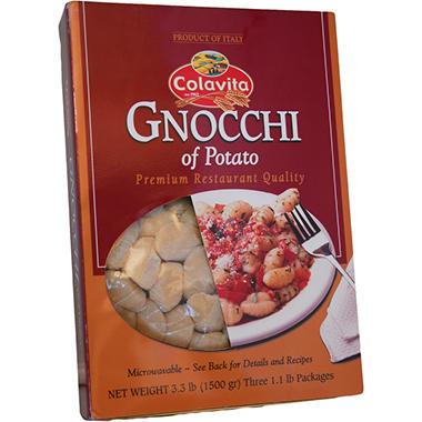 Colavita Potato Gnocchi - 1.1 lb. bags - 3 ct.